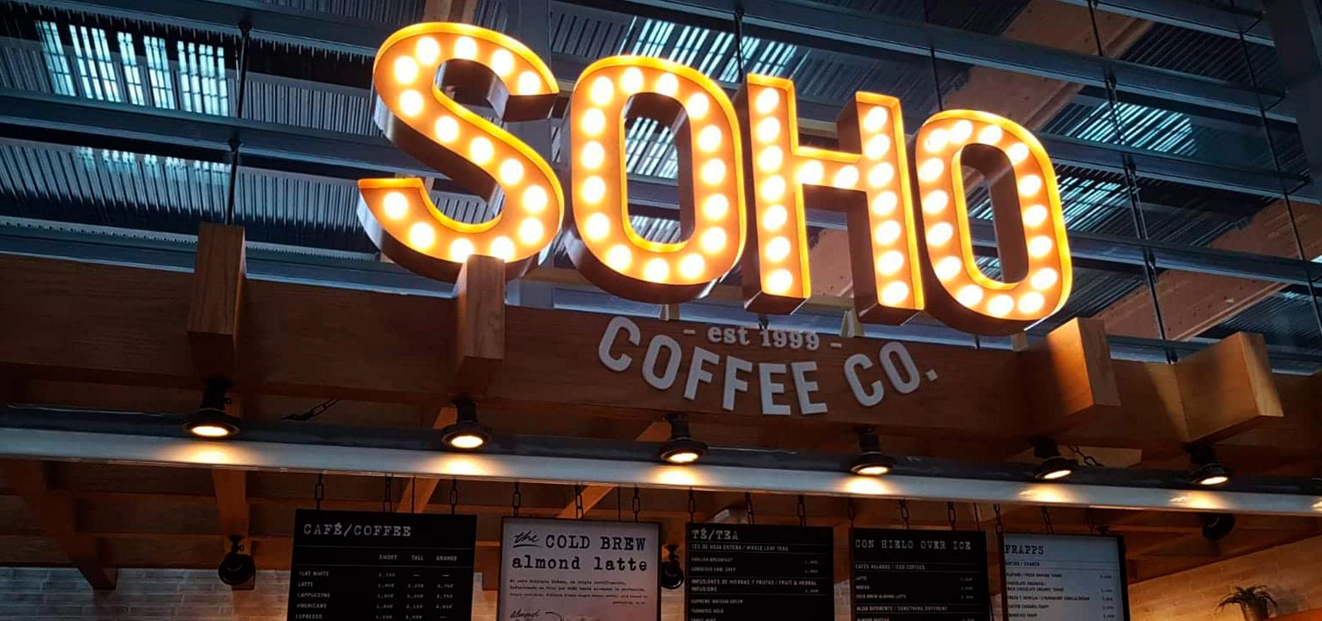 Cafetería SOHO Aeropuerto