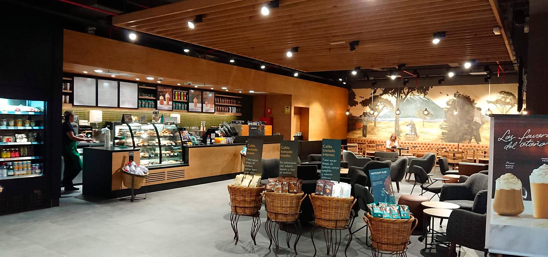 Cafetería Starbucks Aeropuerto